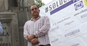 """Eduardo Rivera """"va arriba"""" y por eso lo atacan: Pablo Montiel"""