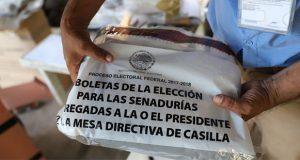 En Oaxaca y Veracruz, roban 11 mil boletas electorales