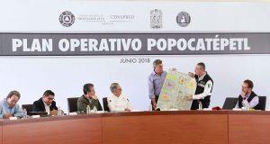 Popo continúa en amarillo fase 2; gobierno pide no difundir rumores