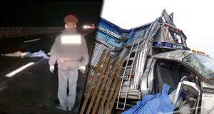 Atropellamiento y choque en la Puebla-Orizaba dejan tres muertos