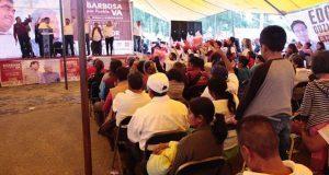 Barbosa propone estímulos al campo e impulsar planes de desarrollo