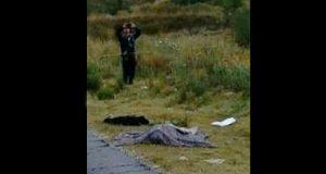 Encuentran cadáver en carretera de Chalchicomula