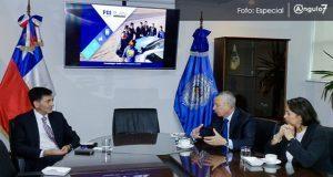Carrancá participa en clausura de trabajos de investigación en Chile