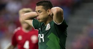 México pierde 2-0 ante Dinamarca previo al mundial