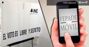 Fepade Móvil, aplicación para denunciar delitos electorales