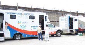 SSP realiza jornada de salud en el Cereso de Huauchinango