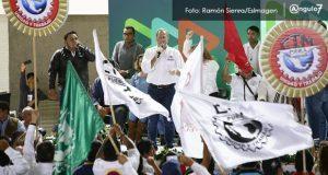 Antorcha promete a Meade 350 mil votos en Puebla