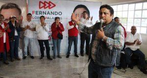 """Fernando López da a conocer propuestas en colonia """"La Mesita"""""""