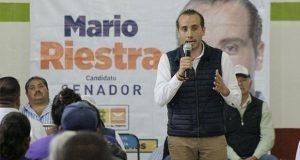 Mario Riestra plantea que recursos por desastres lleguen con rapidez