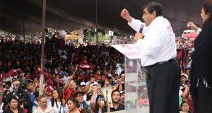 """Pide Barbosa a electores rescatar San Pedro Cholula de """"ambiciosos"""""""