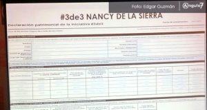 Nancy de la Sierra y JJ ocultan bienes en su 3 de 3, acusan Riestra y Navarro
