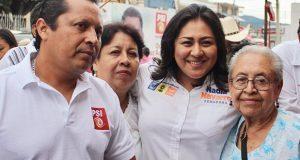 Ciudadanos juzgarán mi trabajo como senadora: Nadia Navarro