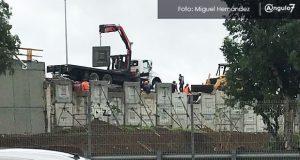 Reparan puente del distribuidor vial de Xonacatepec que costó 120.7 mdp
