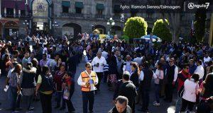320 personas participan en simulacro de sismo en CH