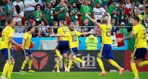 Pese a caer 3-0 ante Suecia, México califica gracias a Corea del Sur