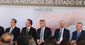 Colegio de Notarios atenderá gratis solicitudes por elecciones: Gali