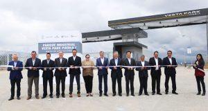 Gobierno estatal inaugura parque industrial Vesta en Huejotzingo