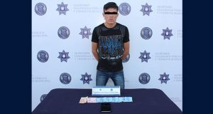 Detienen a presunto asaltante de camiones en Fuentes de San Bartolo