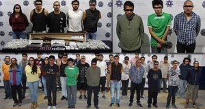 Detienen a 27 personas y aseguran 200 dosis de droga en San Bartolo