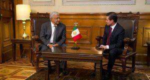 En 1ª reunión, AMLO y EPN pactan sobre presupuesto, Tlcan y transición