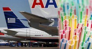 American Airlines también le dice no al uso de popotes en sus vuelos