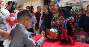 Reconocen apoyo de Antorcha y DIF de Ocoyucan para jardín de niños
