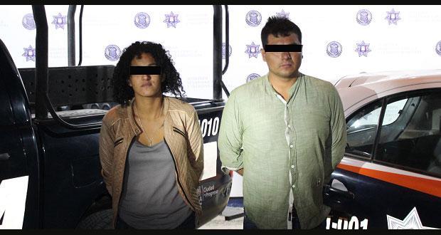 Detienen a dos probables asaltantes en San Baltazar Tetela
