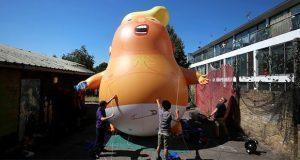 """Como forma de protesta un """"bebé Trump"""" volará sobre Inglaterra"""