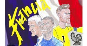 Caricatura: Francia se convierte otra vez en campeona del Mundial