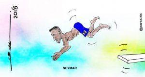Caricatura-Neymar-de-futbolista-a-clavadista