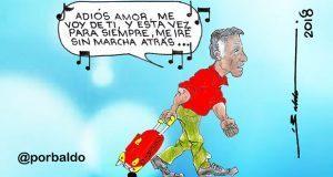 Caricatura: Osorio, el despechado