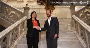 Banck y Claudia Rivera se reúnen por primera vez para iniciar transición