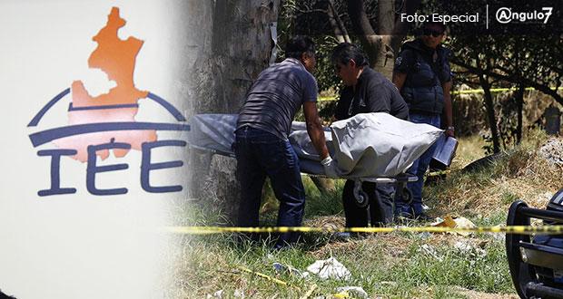En Tlaxcala, encuentran muerto a consejero municipal del IEE en Oriental