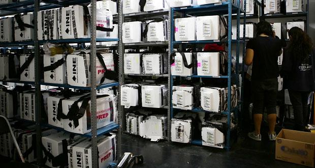 INE reporta 62% de actas computadas en Puebla de elección presidencial