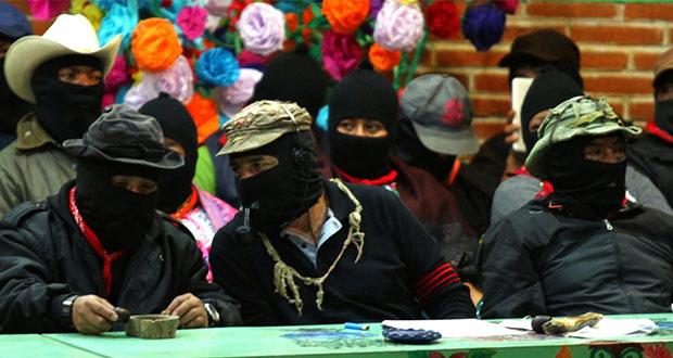 EZLN rechaza diálogo con AMLO