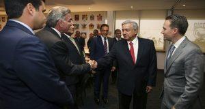 Gali acude a reunión de Conago con AMLO; DH, entre temas abordados