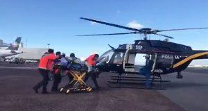 Hombre muere tras arrojarse de puente en aeropuerto de CDMX