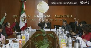 INE rechaza atraer elección a la gubernatura; es competencia del IEE