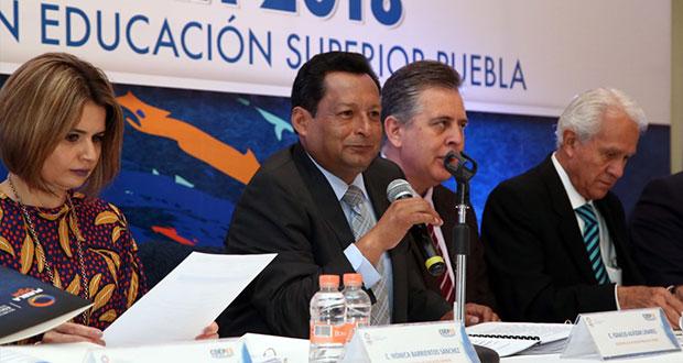 Con 408 universidades, Puebla es 3er lugar nacional: Ignacio Alvízar