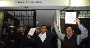 Recibe Manzanilla constancia como diputado federal electo