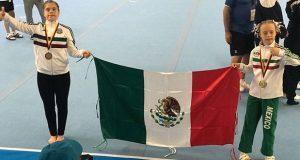 Mexicana con síndrome de Down gana oro en mundial de gimnasia