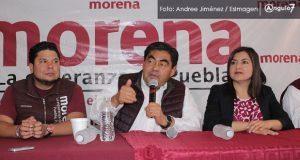 """Acusa Morena que IEE intenta garantizar """"pluris"""" a PRD, MC, CPP y PSI"""