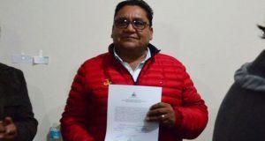 Dan constancia de mayoría a Nibardo Hernández, diputado por Acatlán