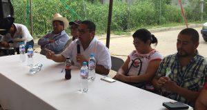 Nibardo Hernández inicia gira de agradecimiento en la mixteca