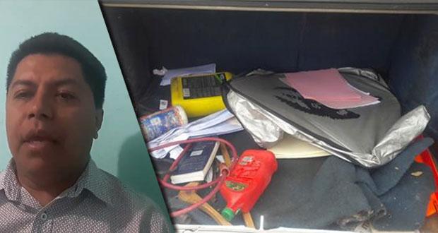 Abogado de ASA denuncia robo de documentos contra Agua de Puebla