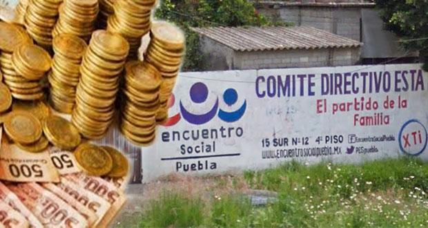 Aunque mantenga registro, PES se quedaría sin recursos públicos en Puebla