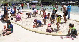 Parque Amalucan incentiva la convivencia familiar: Gali
