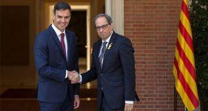 Líderes de España y Cataluña difieren en consulta por independencia