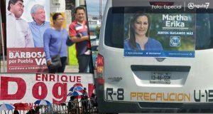 Partidos tienen hasta domingo para retirar propaganda o habría multa de $80,600