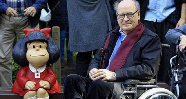 """""""Quino"""" desmiente autoría de Mafalda que promueve antiaborto"""